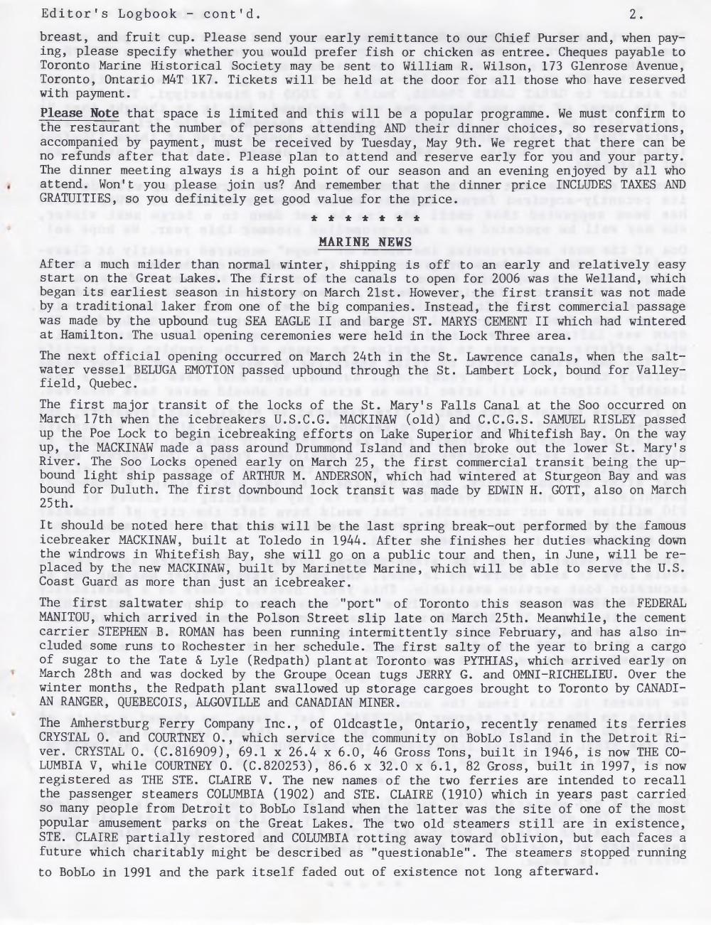 Scanner, v. 38, no. 6 (April 2006)