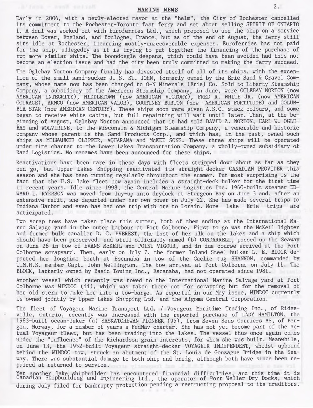 Scanner, v. 38, no. 8 (Mid_Summer 2006)