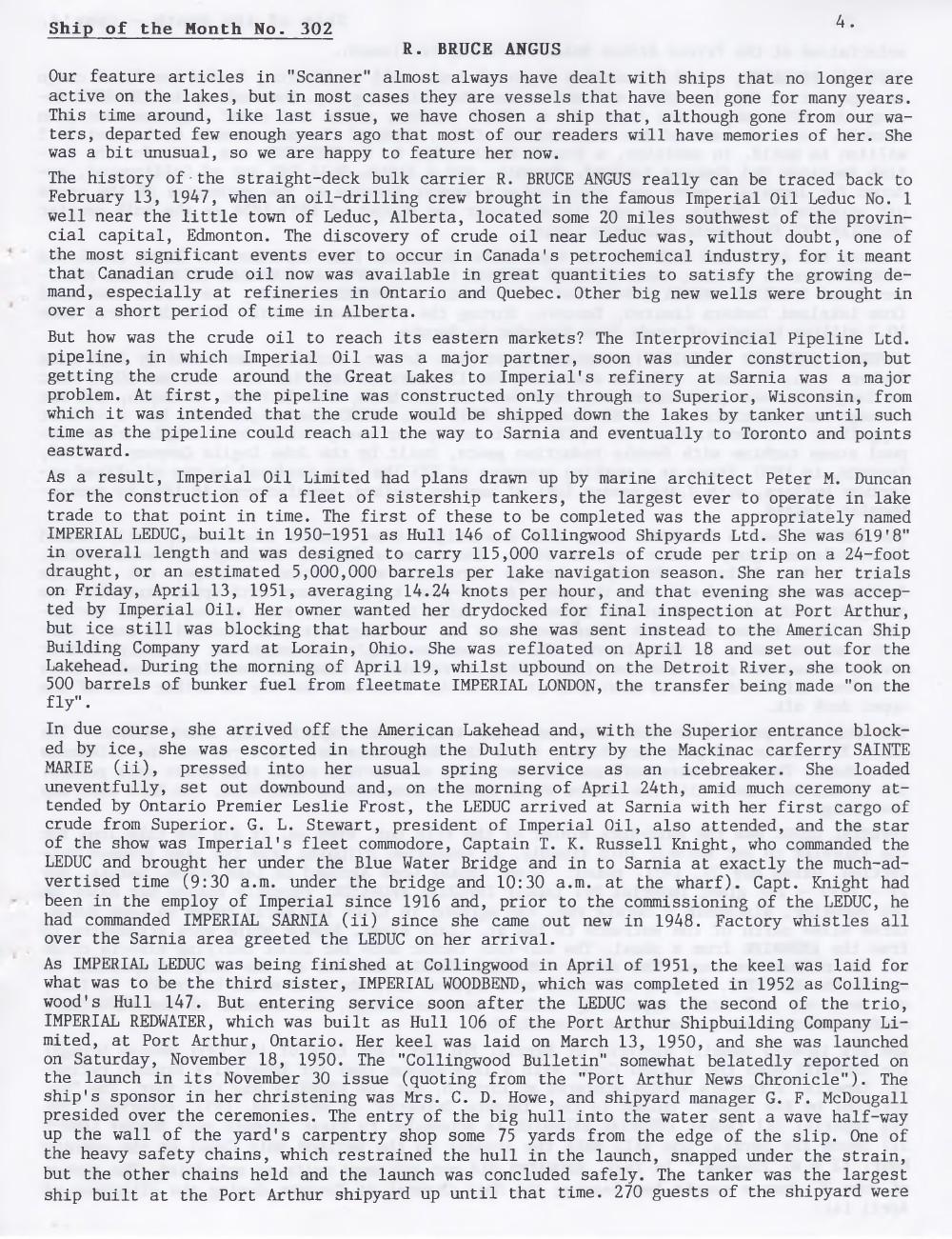 Scanner, v. 39, no. 1 (November 2006)