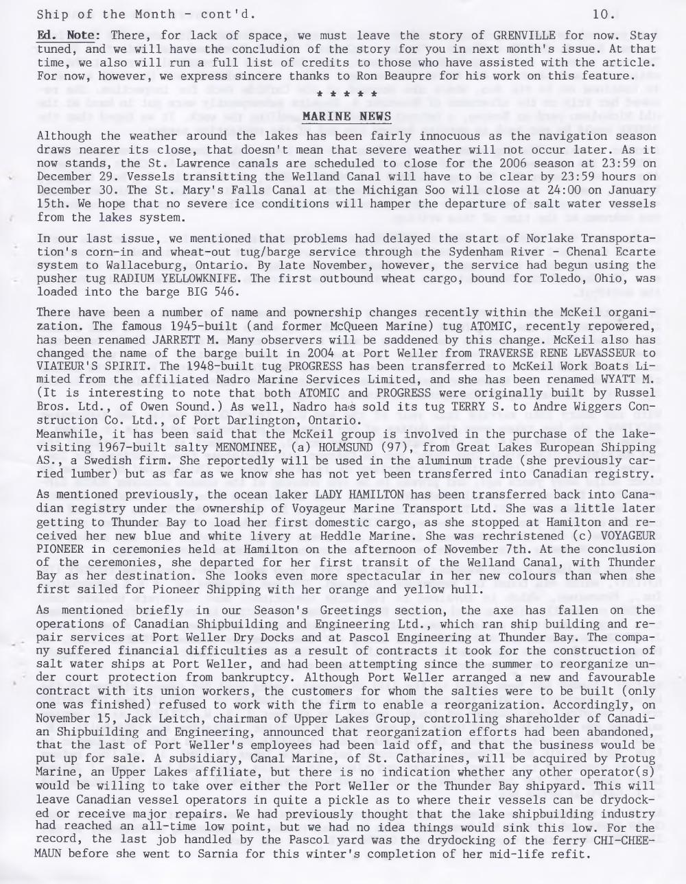 Scanner, v. 39, no. 2 (December 2006)
