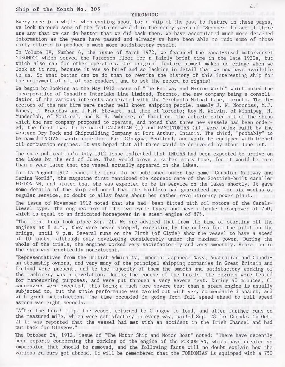 Scanner, v. 39, no. 5 (March 2007)