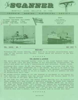 Scanner, v. 39, no. 7 (May 2007)