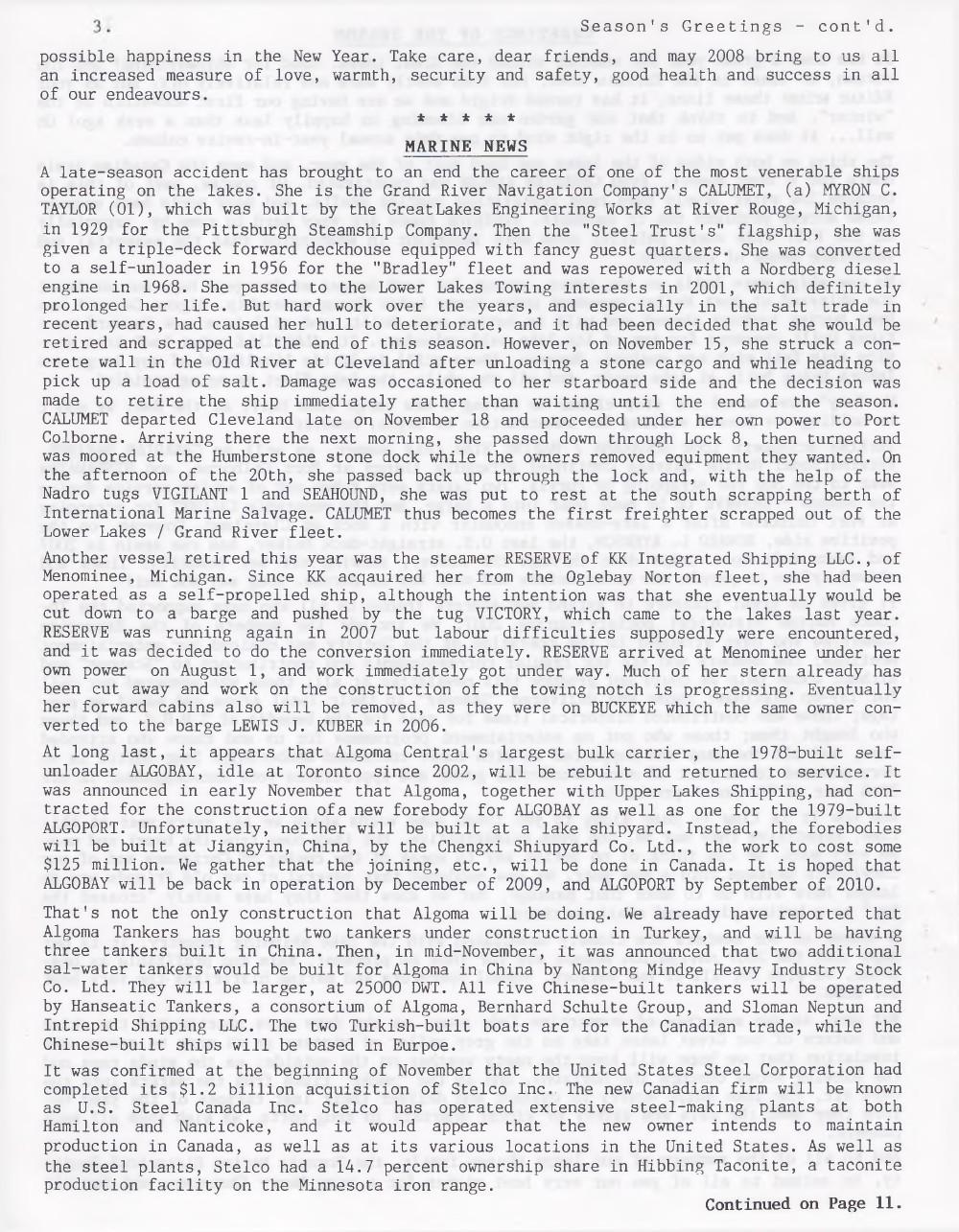 Scanner, v. 40, no. 2 (December 2007)