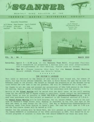 Scanner, v. 40, no. 5 (March 2008)