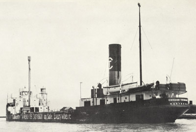 CHICAGO TRIBUNE outbound at Port Dalhousie