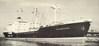 TRANSMICHIGAN docked at Toronto's Cousins Terminal