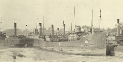 MAPLEHURST in winter quarters at Port Dalhousie