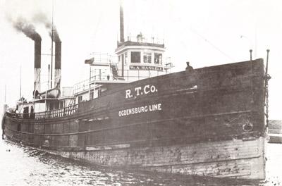 WM. A. HASKELL at the Soo Locks