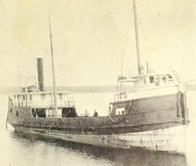 Wooden steamer JUNO
