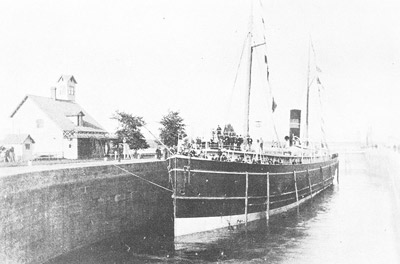 ALGOMA in the Weitzel Lock