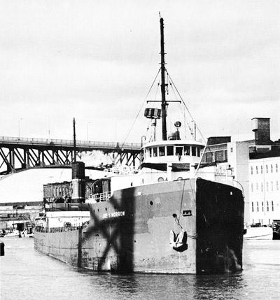 JOE S. MORROW on the Cuyahoga River