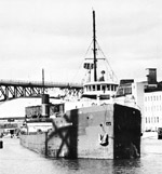 JOE S. MORROW on the Cuyahoga River