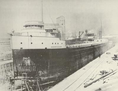 HERBERT K. OAKES in Buffalo Dry Dock