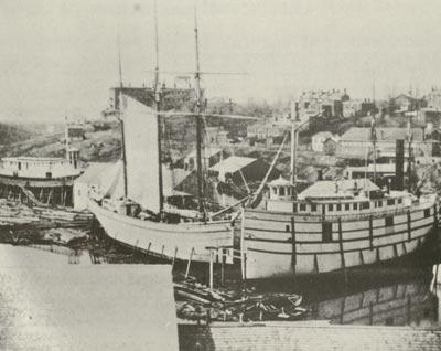 Shickluna shipyard