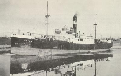 MOYRA in the Welland Canal