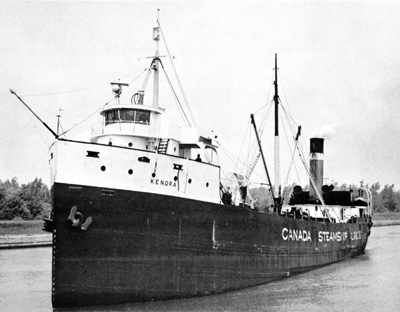 KENORA at the end of her career.
