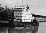 PRESQUE ISLE without her barge
