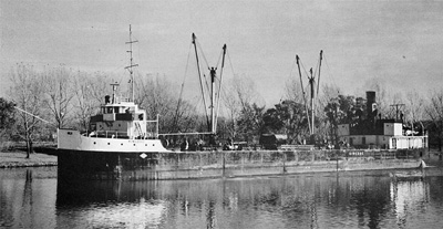 KINGDOC (I) downbound in the Welland Canal at Dain City
