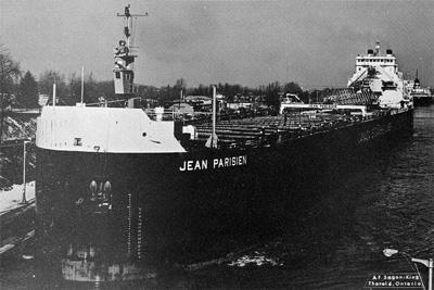 JEAN PARISIEN in Welland Canal on her maiden voyage
