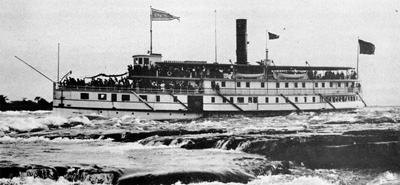BROCKVILLE in the Lachine Rapids