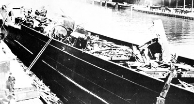 E. M. PECK after  boiler explosion