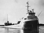 BLACK RIVER downbound in the St. Mary's River near Frechette Point