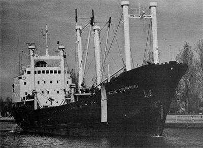 MAURICE DESGAGNES upbound at Port Colborne