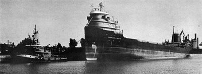 CHARLES M. WHITE at Port Colborne