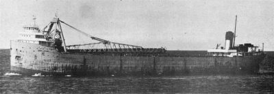 IRVIN L. CLYMER upbound on Lake Superior under tow
