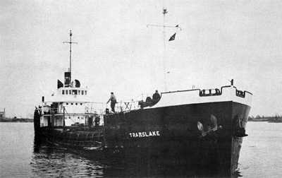 TRANSLAKE upbound at Cornwall