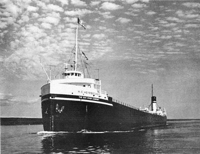 H. C. HEIMBECKER  upbound in the St. Mary's River