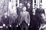 Dr. C. K. Stevenson, front row, second ...