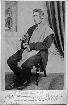 Walter Laidlaw, 3rd Line Esquesing Township