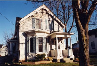 107 Mary Street, Milton, Ont.  Built 1888 for Hugh Campbell - Treasurer/Deputy Registrar, Town of Milton.