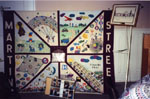 Milton Heritage Awards.  Martin Street School 1995 award winning 75th Anniversary Quilt.