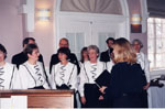Milton Heritage Day. 1998.  Milton Choristers perform at the Awards ceremony.