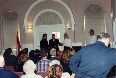 Milton Historical Society - 1998 Heritage Awards