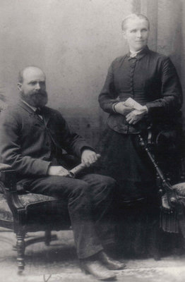 Peter Peddie and Mary (Downie) Peddie
