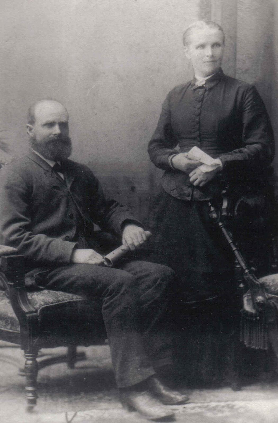 Peter Peddie and Mary (Downie) Peddie