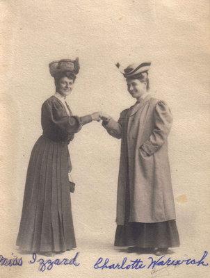 Miss Izzard and Charlotte Warwick