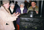 Milton Historical Society Event.  Christmas Meeting 1996.  Ontario Agricultural Museum.