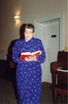 Milton Historical Society Christmas Meeting 1992.  Lou Bradley