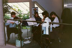 New Year's Levee. 1993.  Halton Youth Symphony String Quartet.