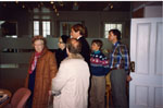 New Year's Levee. 1993.  Visitors.