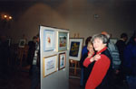 New Year's Levee. 1997.  Art Show.  Marion Detlor