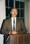 Milton Historical Society meeting, November 1990. Dan Schneider