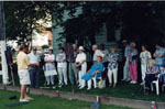 Milton Historical Society meeting.  June 1998.