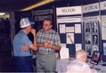 Milton Historical Society Display.  September 1997.  Milton Mall.