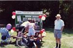 Milton Historical Society exhibit.  Canada Day, 1991.