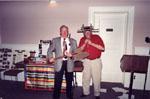 Milton Historical Society Meeting.  May 1995. Ward Brownridge and Don Taylor